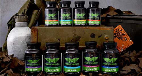 Marine Muscle Anabolics Collection