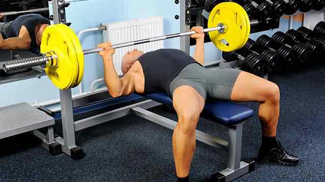 bench press heavy