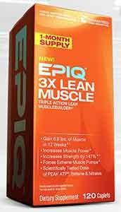 EPIQ 3 X lean muscle