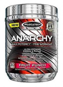MuscleTech Anarchy pre-workout