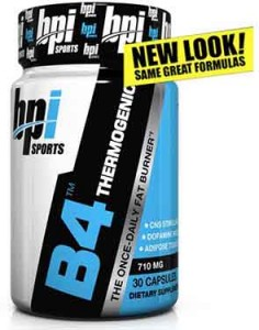 BPI Sports B4 Pre-Workout Fat-Burner