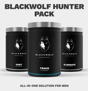 BlackWolf Hunter and Huntress Packs – Total Workout Supplements