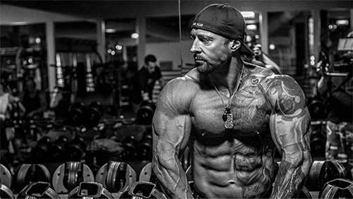 CEO of Kaged Muscle Kris Gethin