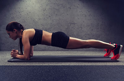 The Plank Core Exercise
