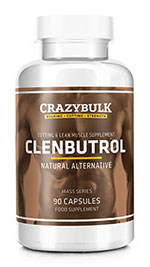 crazybulk clenbutrol bottle
