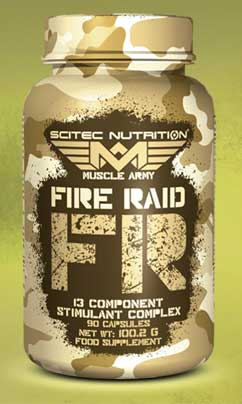 Scitec Fire Raid Review