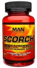 MAN Scorch fat burning tablets