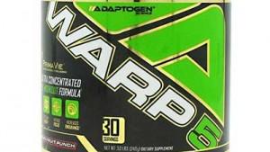 WARP 5 Review – Adaptogen Science – Pre-Workout